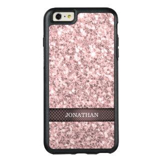 Trendy Brandy Rose Glitter OtterBox iPhone 6/6s Plus Case