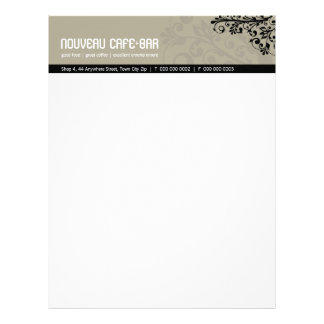 TRENDY BUSINESS LETTERHEAD :: elemental 7