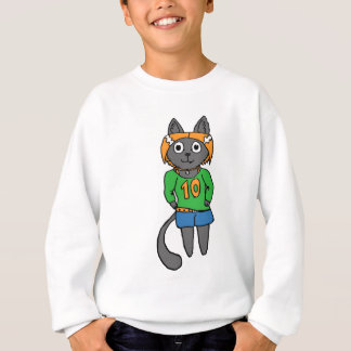 Trendy Cat Cute Cartoon Sweatshirt