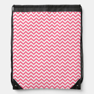 Trendy Chevron Drawstring Backpack