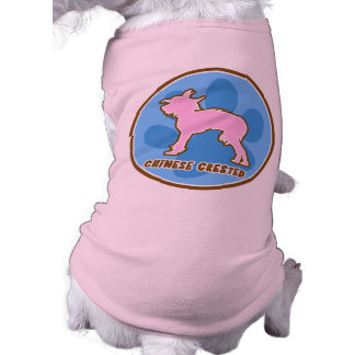 Trendy Chinese Crested Doggie T-shirt