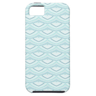 Trendy Chinese Dragon Scale Scallop ZigZag Pattern iPhone 5 Cover