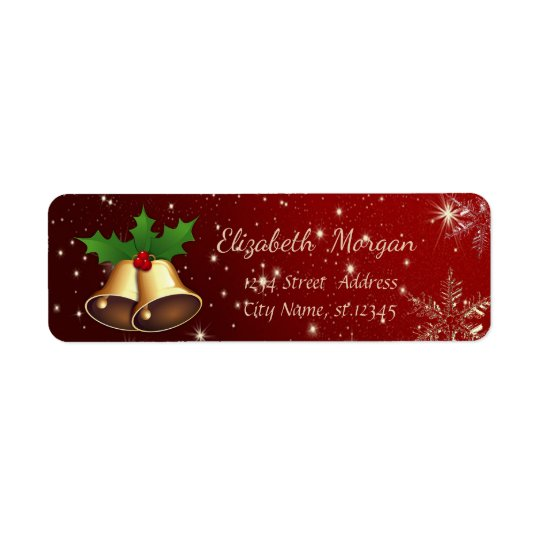 Trendy Christmas Snowflakes,Gold Christmas Bell
