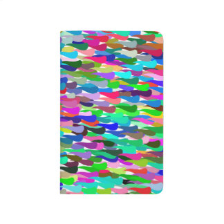 Trendy Colorful Abstract Background Journals