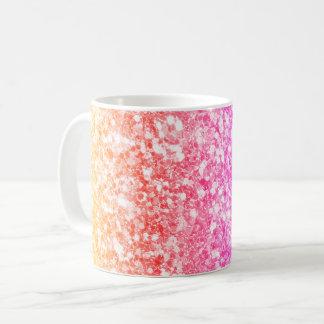 Trendy Colorful Glitter Coffee Mug