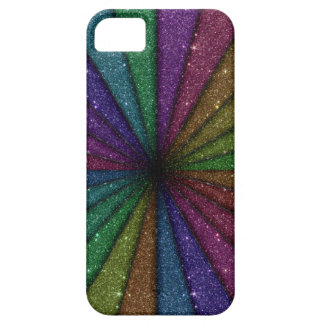 Trendy Colorful Glitter Explosion iPhone 5 Cover