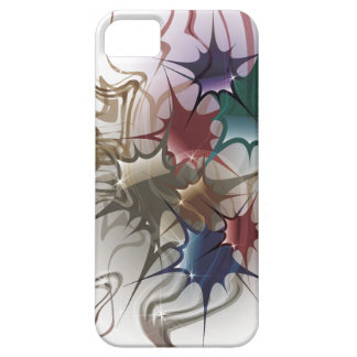 Trendy Colorful Ink Splash Case For The iPhone 5