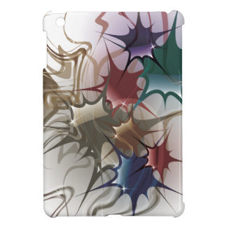 Trendy Colorful Ink Splash Cover For The iPad Mini