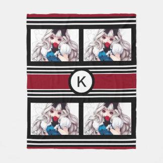 Trendy & Cool Anime Girl Fleece Blanket