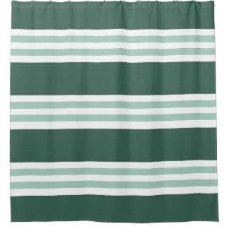 Trendy Dark Green Stripes