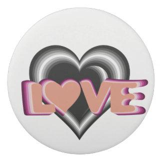 Trendy designed cute round eraser