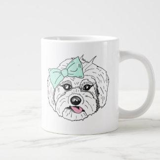 Trendy Drawn Dog Mug