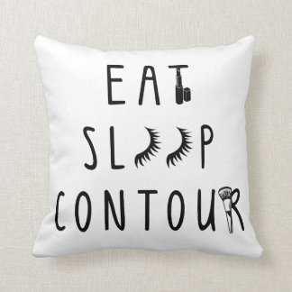 trendy eat sleep contour classy pillow