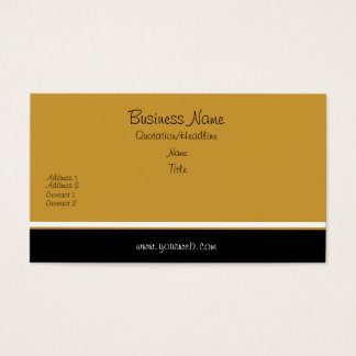Trendy  Elegant Classic Business Card