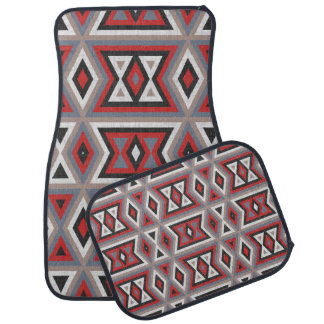 Trendy Ethnic American Native Indian Tribe Pattern Car Mat