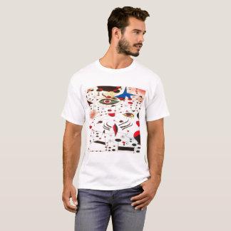trendy eye art Men's Basic T-Shirt, White T-Shirt