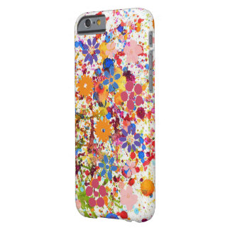 Trendy floral colourful  iPhone 6/6s, Barely There Barely There iPhone 6 Case