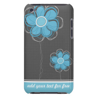 Trendy Floral Decor iPod Case