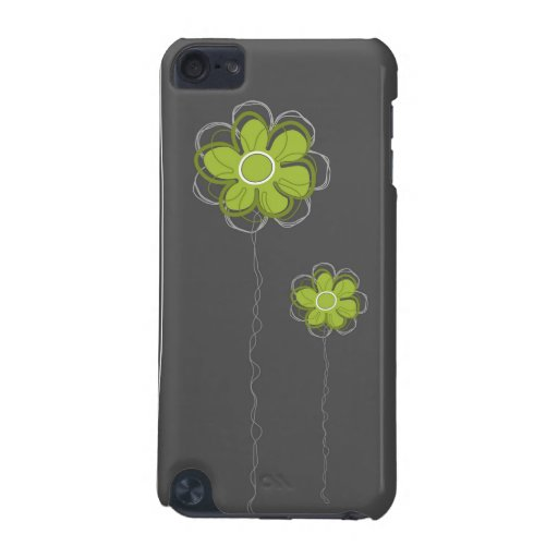 Trendy Floral Decor iPod Case iPod Touch 5G Cover