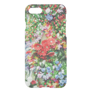 Trendy floral flowers flower wall photo rustic iPhone 7 case