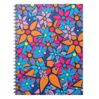 Trendy Floral Pattern #2 Notebook