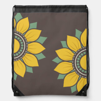 Trendy Floral Pattern Backpack