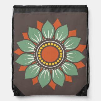 Trendy Floral Pattern Cinch Bags