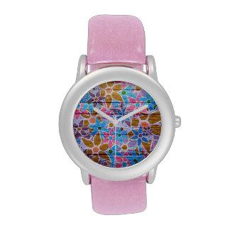 Trendy Floral Pattern Vintage #4 Watches