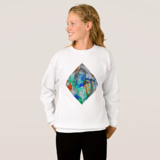 Trendy girls shirt Colorful soul music art by OC