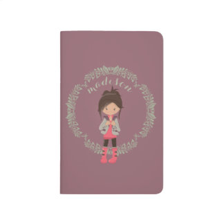 Trendy Girly Avatar Journal
