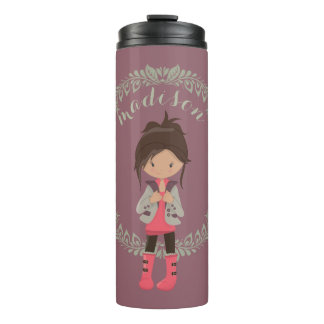 Trendy Girly Avatar Thermal Tumbler