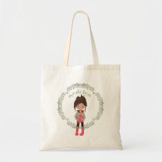 Trendy Girly Avatar Tote Bag