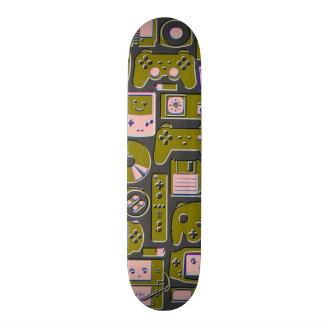 Trendy Gold Gamer Element Deck Skateboard