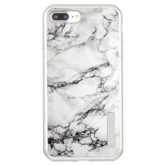 Trendy Gray White And Black Marble Incipio DualPro Shine iPhone 8 Plus/7 Plus Case