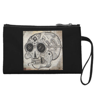 Trendy Halloween Mini-Clutch Wristlet