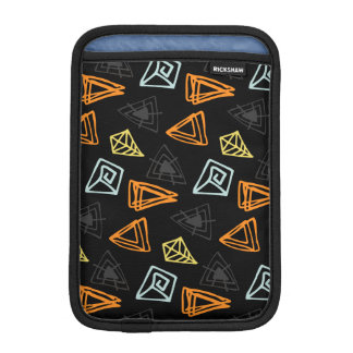 Trendy hand made Pattern Abstract Triangles iPad Mini Sleeve