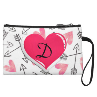 Trendy Heart Mini Clutch