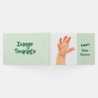 Trendy Keepsake Create your Own Template Guest Book