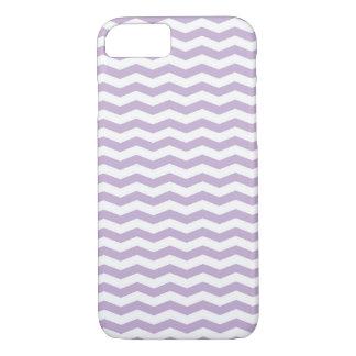 Trendy Lavender chevron iPhone case