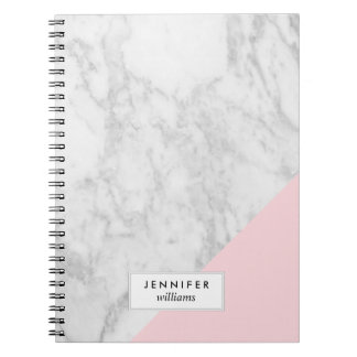 Trendy Marble Texture Note Book