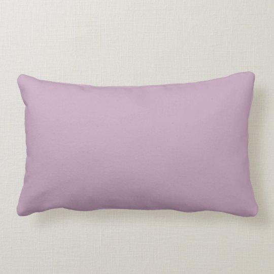 Trendy Mauve Solid Colour Pillow