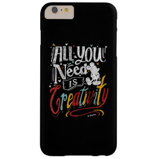 Trendy Mickey | All You Need Is Creativity Barely There iPhone 6 Plus Case