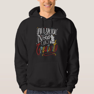 Trendy Mickey | All You Need Is Creativity Hoodie