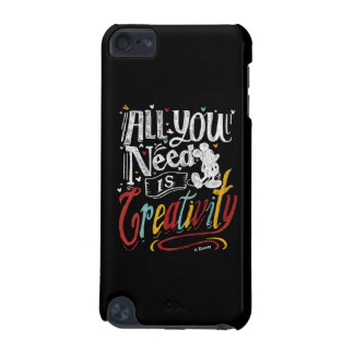 Trendy Mickey   All You Need Is Creativity iPod Touch 5G Covers