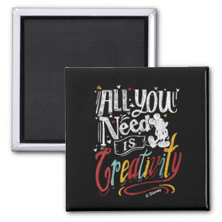 Trendy Mickey | All You Need Is Creativity Magnet
