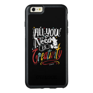 Trendy Mickey | All You Need Is Creativity OtterBox iPhone 6/6s Plus Case