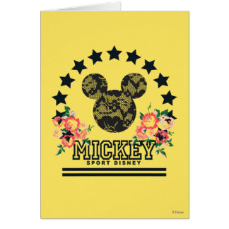 Trendy Mickey | Athletic Card