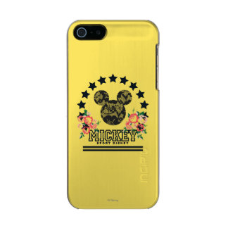 Trendy Mickey | Athletic Incipio Feather® Shine iPhone 5 Case
