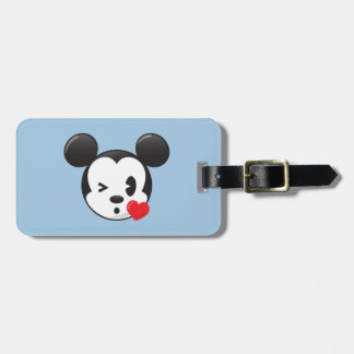 Trendy Mickey | Flirty Emoji Luggage Tag