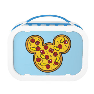 Trendy Mickey | Head-Shaped Pizza Lunchboxes